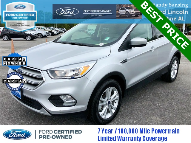 Ford Certified Pre Owned >> Certified Pre Owned 2018 Ford Escape Se Fwd 4d Sport Utility