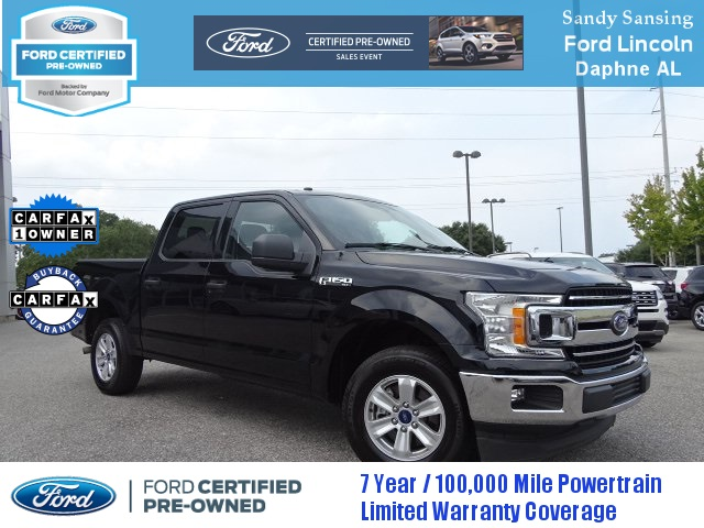 Ford Certified Pre Owned >> Certified Pre Owned 2018 Ford F 150 Xlt Rwd 4d Supercrew