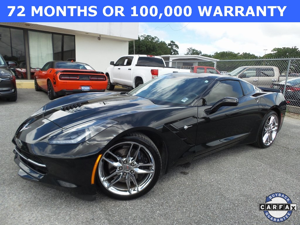 Sandy Sansing Used Cars >> Certified Pre Owned 2015 Chevrolet Corvette Stingray Z51 Rwd 2d Coupe