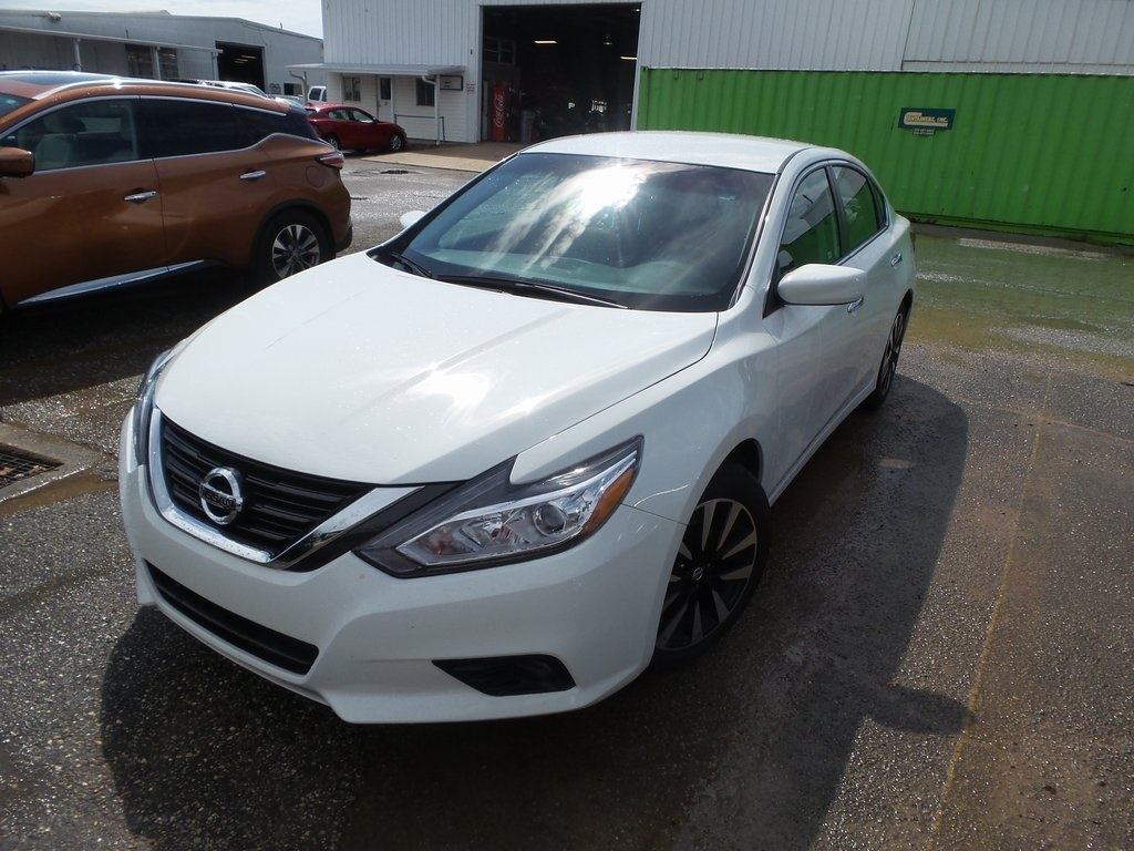 Sandy Sansing Used Cars >> Pre Owned 2018 Nissan Altima 2 5 Sv Fwd 4d Sedan
