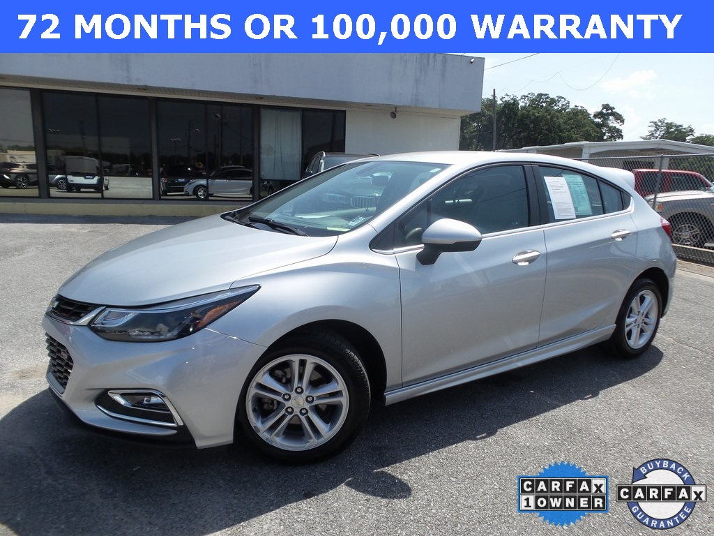 Sandy Sansing Used Cars >> Certified Pre Owned 2018 Chevrolet Cruze Lt Fwd 4d Hatchback