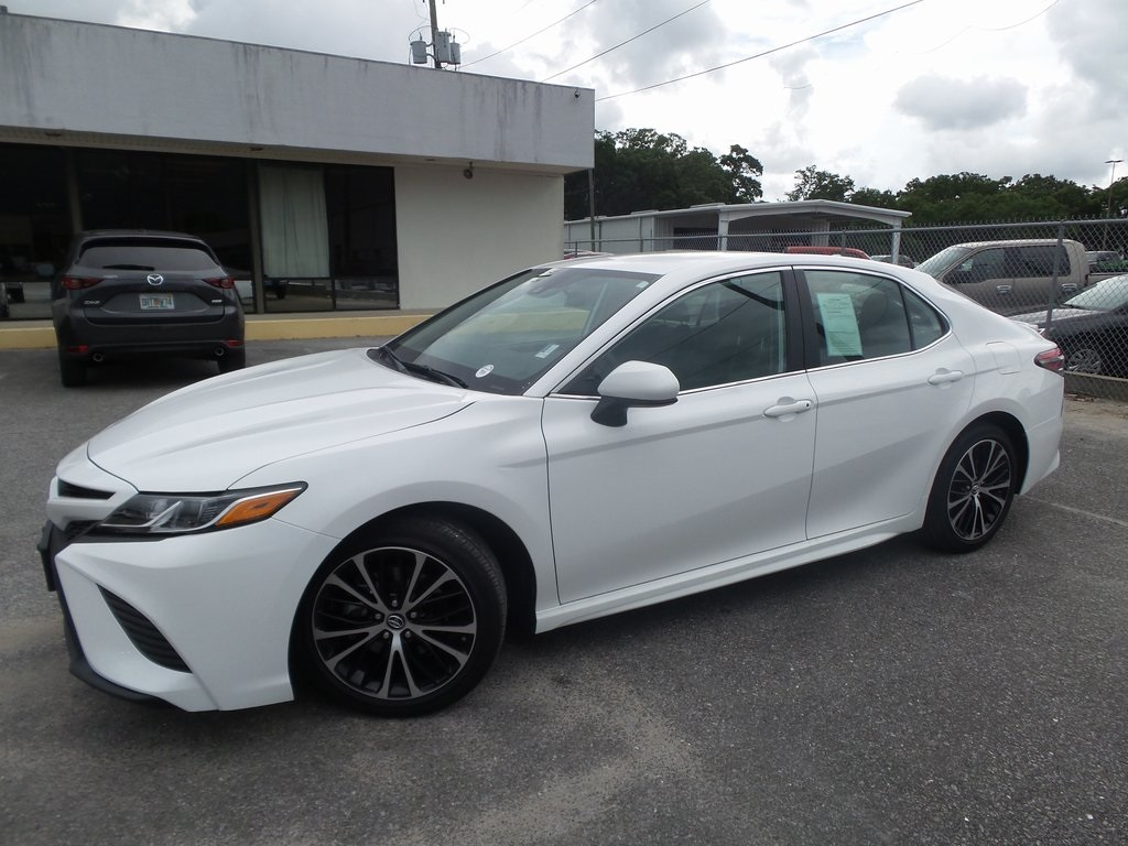 Sandy Sansing Used Cars >> Pre Owned 2019 Toyota Camry Se Fwd 4d Sedan