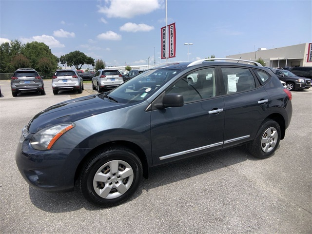 Nissan Rogue Select >> Certified Pre Owned 2015 Nissan Rogue Select S Fwd 4d Sport Utility